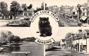 Good Luck Reading, Forbury Gardens, Broad Street, Thames, Sonning Black Cat 1964