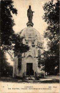 CPA Langres - Les Fourches - Chapelle Notre-Dame de la Delivrance (368686)