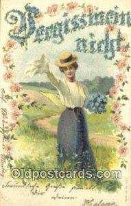 Signed Postcard, Postales, Postkaarten, Kartpostal, Cartes, Postale, Postkart...