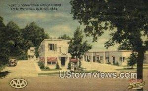 Talbot's Downtown Motor Court - Idaho Falls , Idaho ID