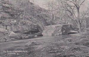 Kentucky Louisville Big Rock Cherokee Park 1908