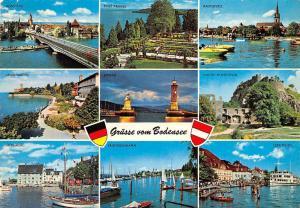 Gruesse vom Bodensee multiviews Insel Mainau Lindau Leuchtturm Konstanz