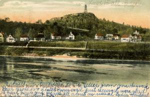 NH - Hooksett.  Merrimac River and Pinnacle