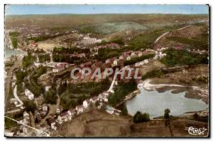 Old Postcard The coutine (Creuse) General view of the camp Militaria