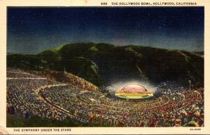 California Hollywood The Hollywood Bowl Symphony Under The Stars