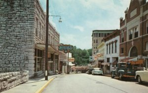 EUREKA SPRINGS , Arkansas , 50-60s ; South on Spring Street