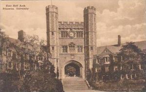 New Jersey Princeton Blair Hall Arch Princeton University Albertype