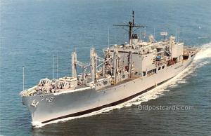 USS Sylvania Combat Stores Ship Military Battleship Unused