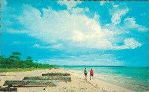 Jamaica Beautiful White Sands at Negril Beach 06.95