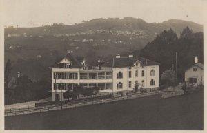 Trogen Krankenhaus 1929 Swiss Postcard with Postmark