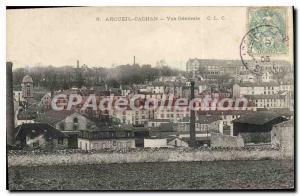 Postcard Old Arcueil Cachan Vue Generale