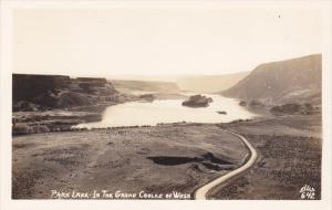 RP: Park Lake - In the Grand Coulee , Washington , 1930-40s ELLIS 642