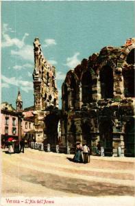 CPA VERONA L'Ala dell'Arena . ITALY (448572)