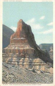 Towering Cliffs Above Hermit Camp GRAND CANYON Arizona c1920s Vintage Postcard