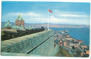Quebec City, Canada, 1956 used Postcard