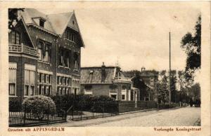 CPA Groeten uit APPINGEDAM Verlengde Konigstraat NETHERLANDS (604063)