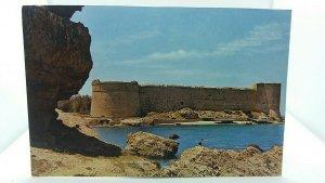Vintage Postcard Kyrenia Castle Constructed in 13th Century Cyprus