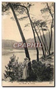 Old Postcard Chateau De La Roche Jagu The Banks Trieux