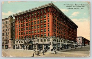 Omaha Nebraska~New Brandeis Theatre Building~Douglas & 17th Streets~1911