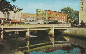 Connecticut-Rhode Island Pawcatuck-Westerly Bridge Over Pawcatuck River