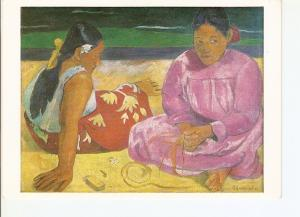 Postal 021089 : Women of Tahiti, Lovre Musee