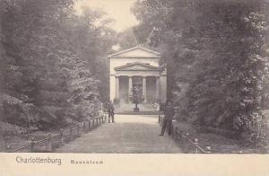 Mausoleum, Charlottenburg, Berlin, Germany, 1900-1910s