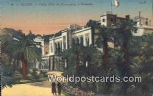 Alger Algeria, Africa, Palais d'Ete du Gouverneur, a Mustapha  Palais d'Ete d...