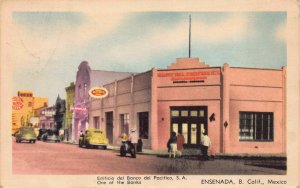 Postcard One of the Banks in Ensenada, Baja California, Mexico~125801