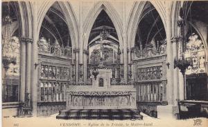 Eglise De La Trinite, Le Maitre-Autel, VENDOME (Loir Et Cher), France, 1900-1...