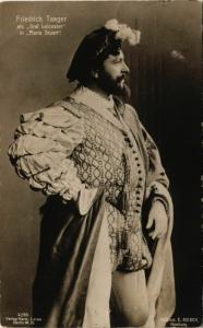 CPA Friedrich Taeger als Graf Leicester in Maria Stuart THEATER STARS (777944)