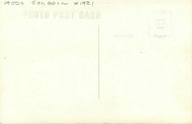 Meadowlark Lodge Ten Sleep Wyoming Sanborn 1921 RPPC Photo Postcard 20-3260