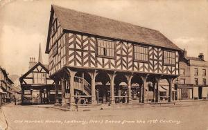 Old Market House, Ledbury (No1) Dates from the 17th Century, with Greetings