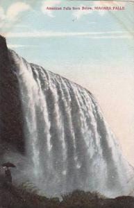 New York Niagara Falls American Falls From Below