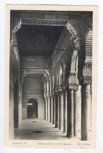 RP, Galeria Del Patio De Los Leones, Granada (Andalusia), Spain, 20-40s