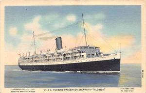 5217  S.S.  Florida  P and O Steamship Co.