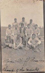 Morse Bluff Nebraska, USA Morse Bluff Nebraska Baseball, 1910 Champs 1910