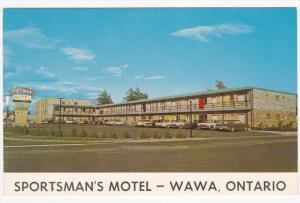 WAWA, Ontario, Canada, 1940-1960's; Sportsman's Motel, Classic Cars