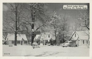 KANAB, Utah, 1950-60s ; Ranch Lodge Notel