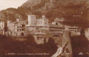 RP, Palais Du Prince Et La Montee Major, Monaco, 1920-1940s
