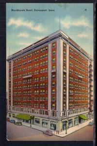 Blackhawk Hotel,Davenport,IA BIN