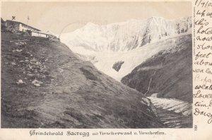 Grindwald Baeregg mit Viescherwand u. Viescherfirn , Switzerland , 1903