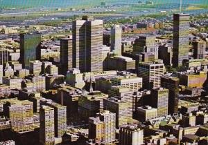 Canada Magnificent Aerial View Of The Downtown Montreal Montreal Quebec