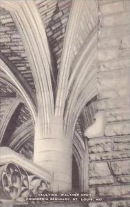 Missouri St Louis Vaulting Walther Arch Concordia Seminary Artvue