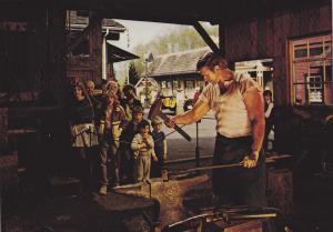 Blacksmith , Heritage Village Museum , BURNABY , B.C. , Canada , 1980s