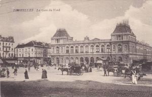 La Gare Du Nord, Bruxelles, Belgium, 1900-1910s