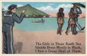 HAWAII , 1910s ; Girls in these South Sea Islands...