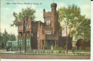 Mrs. Potter Palmer's Residence, Chicago, Illinois