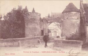 La Porte, SAINT-JEAN-AU-BOIS (Oise), France, 1900-1910s