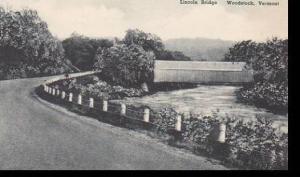 Vermont Woodstock  Lincoln Bridge