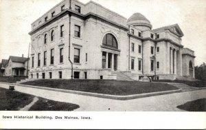 Iowa Des Moines Iowa Historical Building 1909